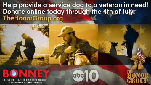 Bonney Plumbing - ABC10 with The Honor Group