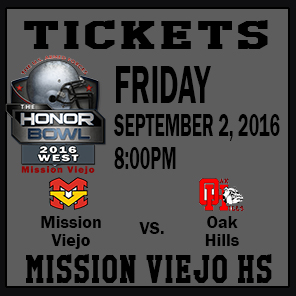 The Honor Bowl: Tickets for Friday Game 2