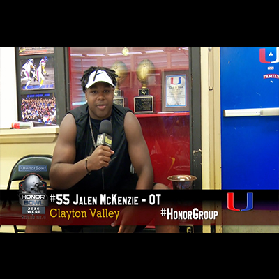 2016 Honor Bowl: Athletes talk about the event.