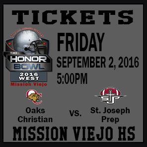 The Honor Bowl: Tickets for Friday Game 3