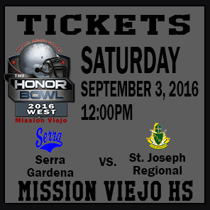 The Honor Bowl: Tickets for Saturday Game 4