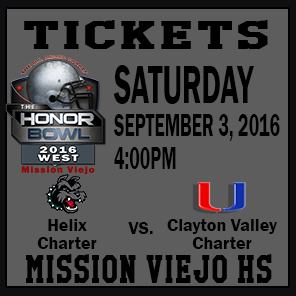 The Honor Bowl: Tickets for Saturday Game 5