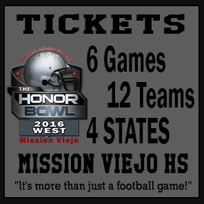 2016 Honor Bowl Tickets