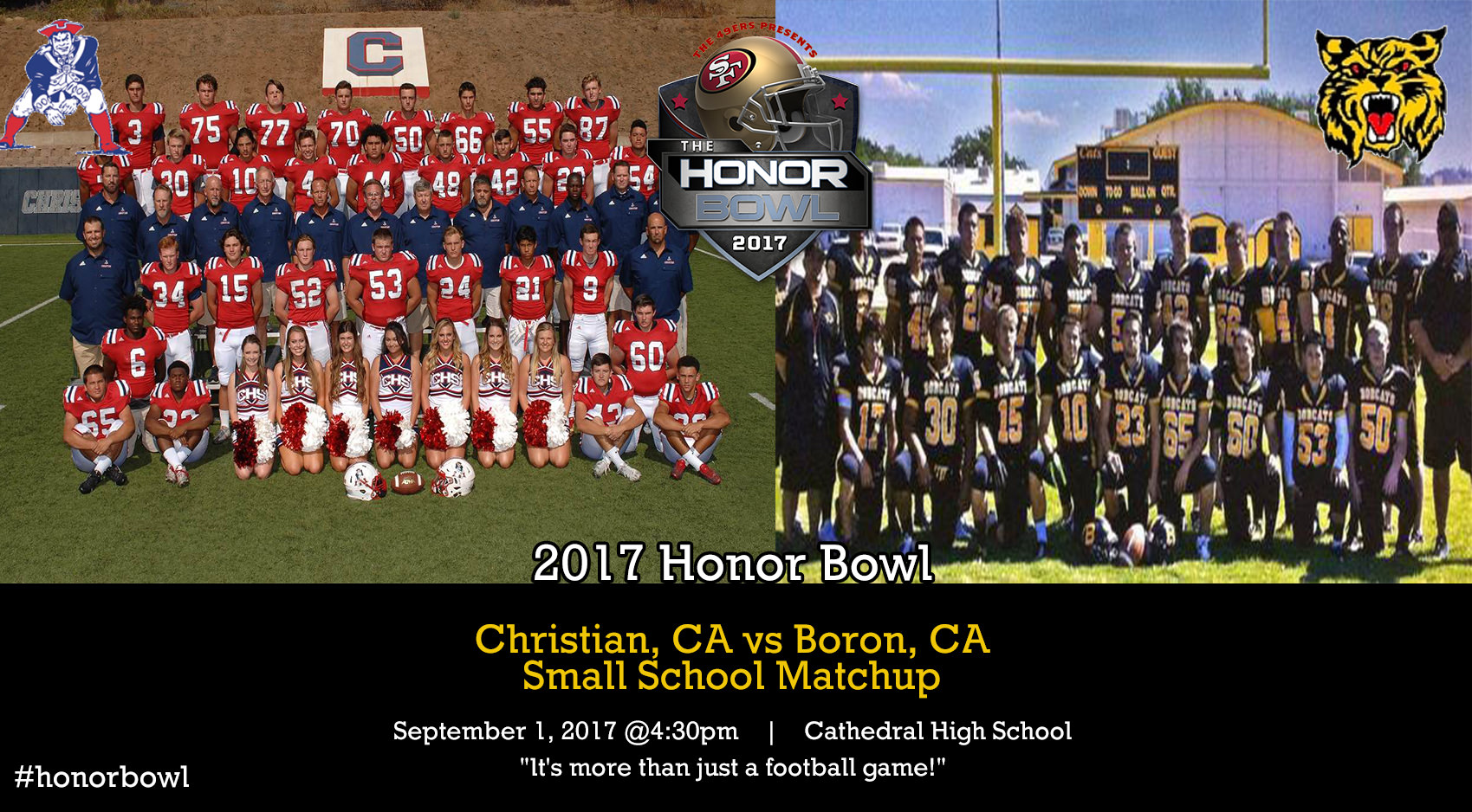 Game One: Christian HS vs Boron HS