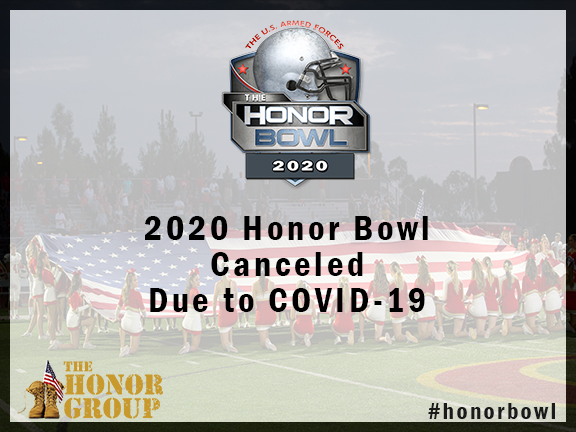 2020 Honor Bowl Cancelled